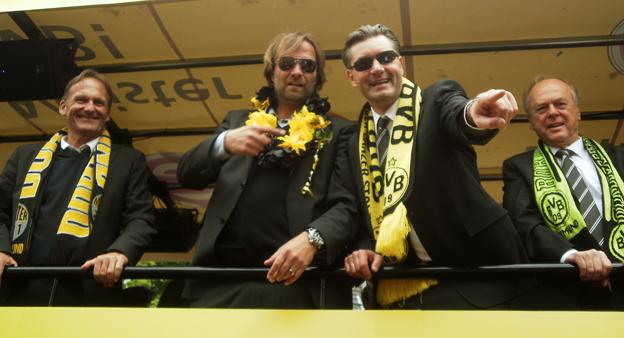 Klopp Meisterfeier Dortmund 2011